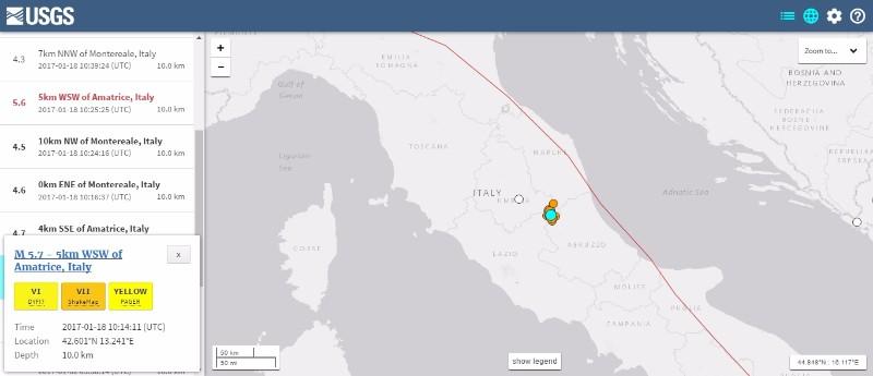 イタリア中部で「M4~5クラス」の地震が10回近くも発生…例の「超巨大火山」活発化でヤバイのか?