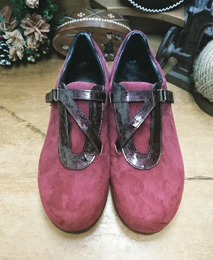 オーダーワイン靴