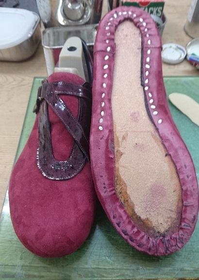オーダーワイン靴4