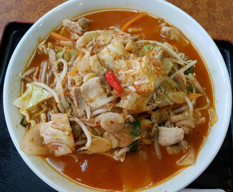「琉球激辛麺」 坂本激(那覇市)