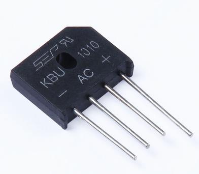 送料無料10ピース10a-1000ボルトダイオードブリッジ整流器kbu1010