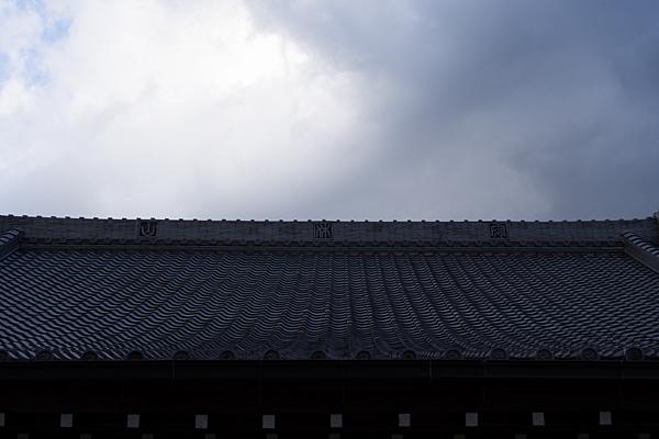 利海寺本堂屋根