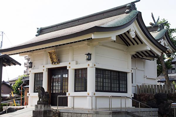大幸八幡社拝殿