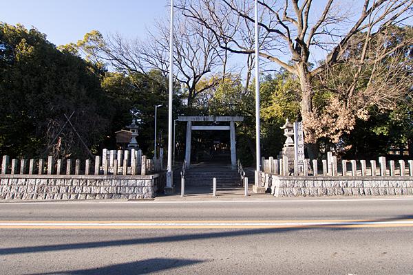 菅田神社外観