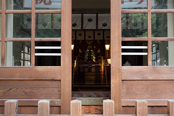矢田六所神社本殿