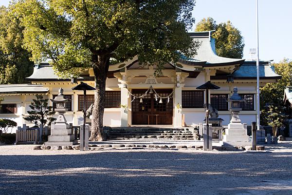 島田神社拝殿