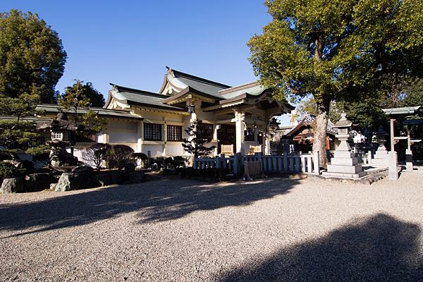島田神社社殿