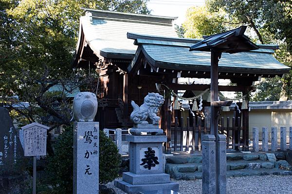 島田神社鷽替え