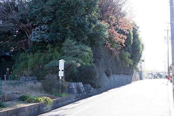 島田城跡外観