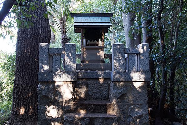 島田城跡の牧神社