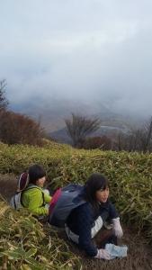 親子共育キャンプ登山 (1)