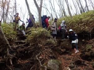 親子共育キャンプ登山 (6)