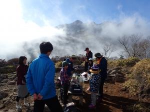 親子共育キャンプ登山 (14)