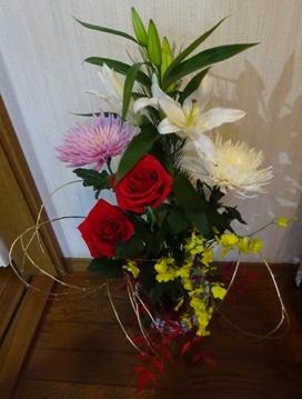 16 12 生け花