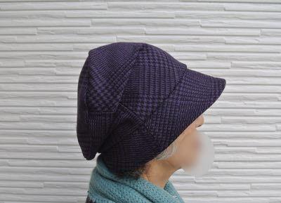 はぎれ帽子-2
