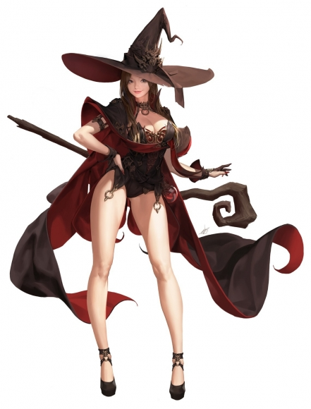 yande_re2037710420sample20ake_(cherrylich)20cleavage20heels20signed20weapon20witch.jpg