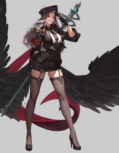 yande_re2038243520ake_(cherrylich)20heels20stockings20thighhighs20uniform20weapon20wings.jpg