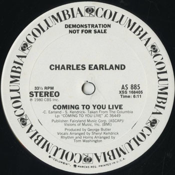 DG_CHARLES EARLAND_COMING TO YOU LIVE_201701