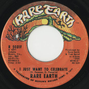 OT_RARE EARTH_I JUST WANT TO CELEBRATE_201702