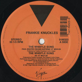 DG_FRANKIE KNUCKLES_THE WHISTLE SONG_201702