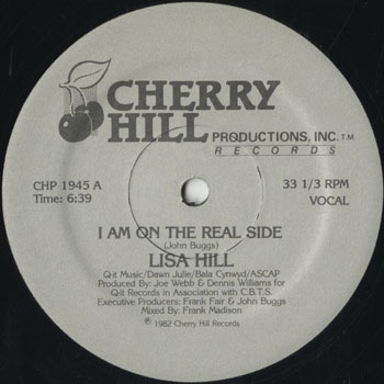 DG_LISA HILL_I AM ON THE REAL SIDE_201702