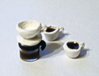 ドリッパーとカップ