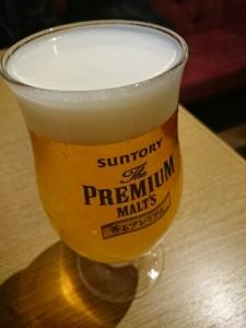 2日休憩ビール