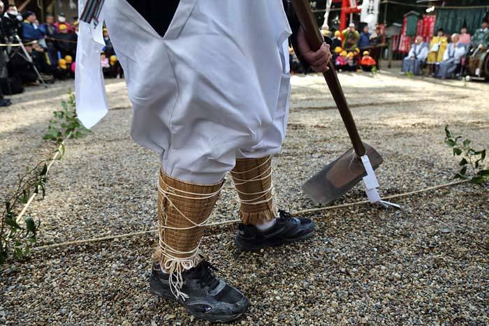 大和神社 御田植祭3