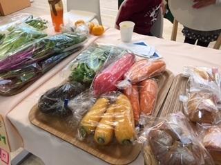 いろどりカフェ野菜