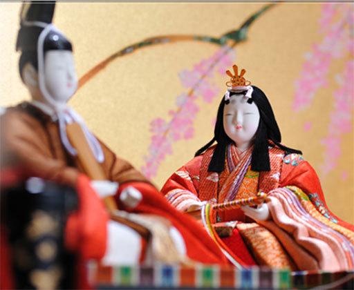真多呂(またろ)作の衣裳着木目込み雛人形