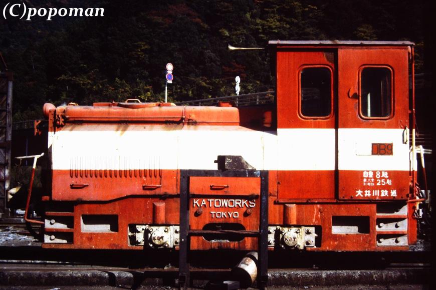 PICT0481 1992 11 12 大井川鉄道 井川線 川根両国 870 580 popoman