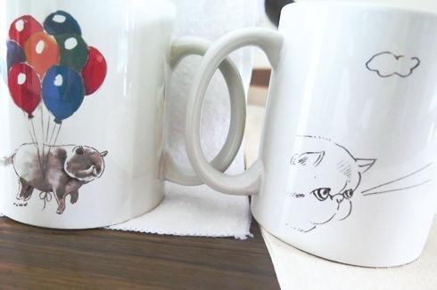 8)ガン見ちゃんビームカップ