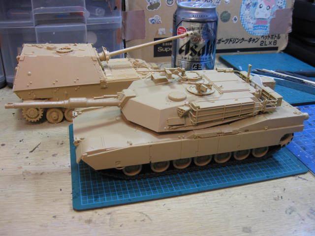 M1A1 ABRAMS の2