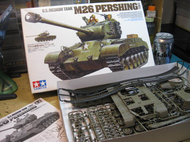 M26 PERSHING タミヤの1