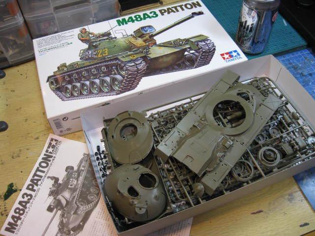 M48A3 タミヤ の1