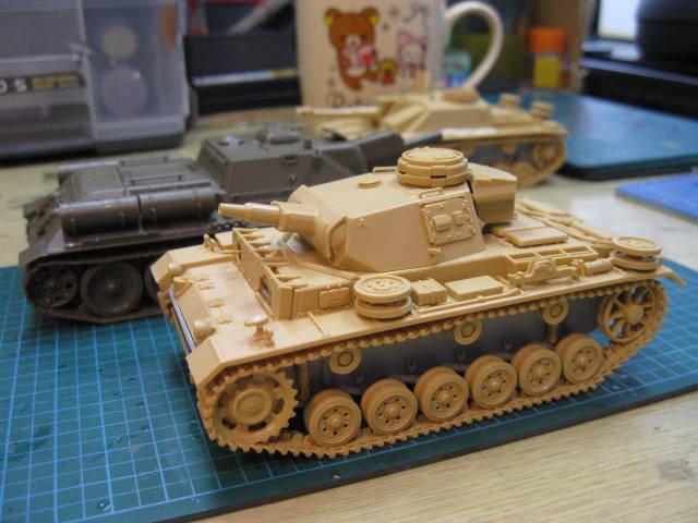Ⅲ号N型 第501重戦車大隊 の2