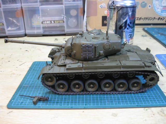 M26A1 基本塗装終了・・・・