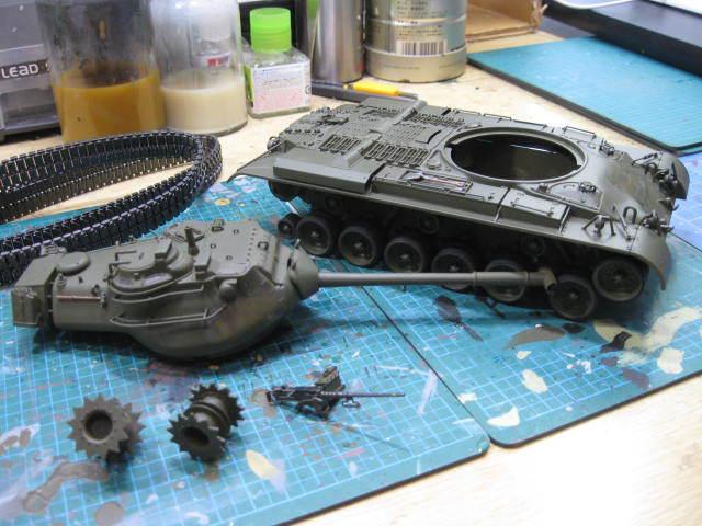M47 再塗装の1