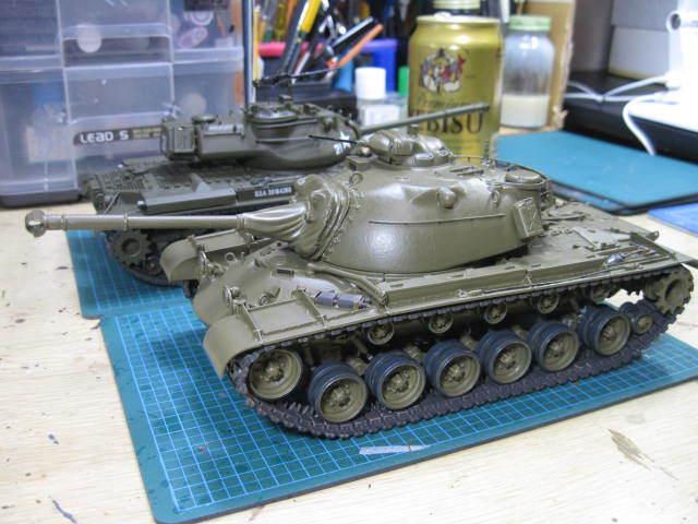 M48A1 塗装の2