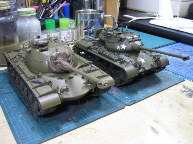 M47 & M48A1 途中・・・