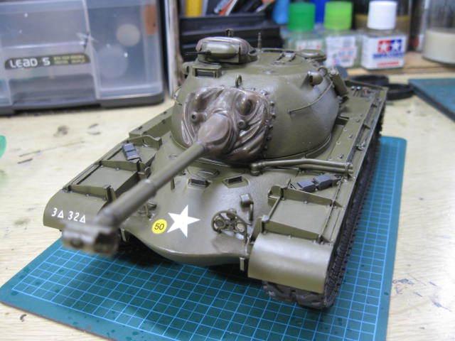 M48A1 塗装の3