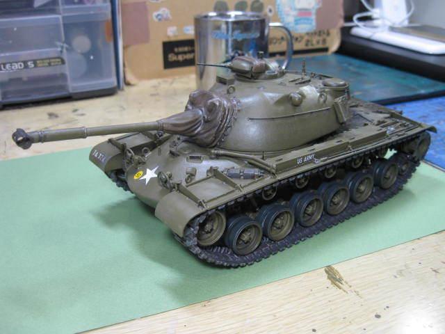 M48A1 完成の1