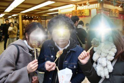 20170108宮島もみじ饅頭の天ぷら