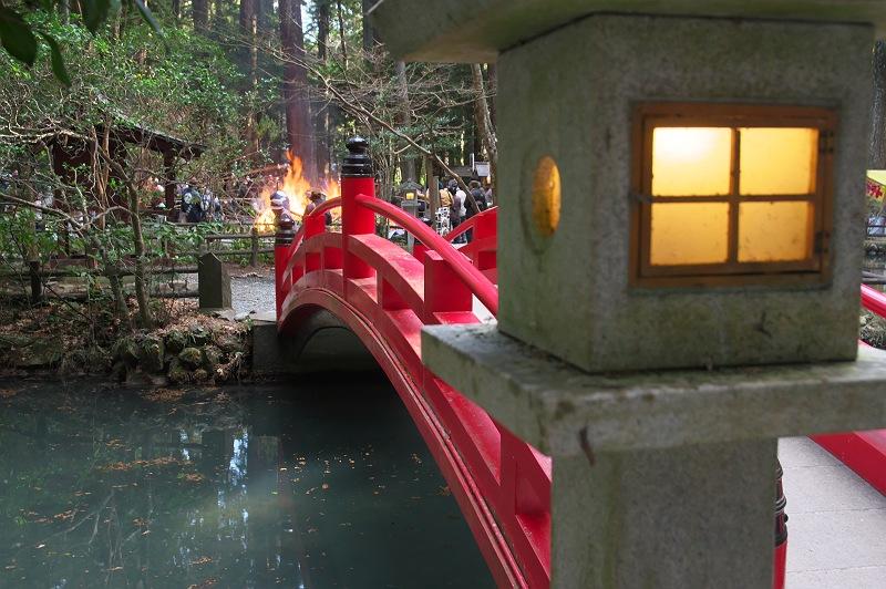 小國神社のどんど焼き 弐