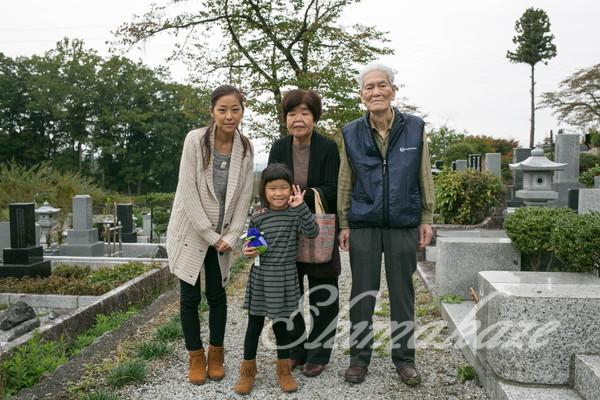 日本旅行(秋)墓参り プーケットしまかぜ案内人