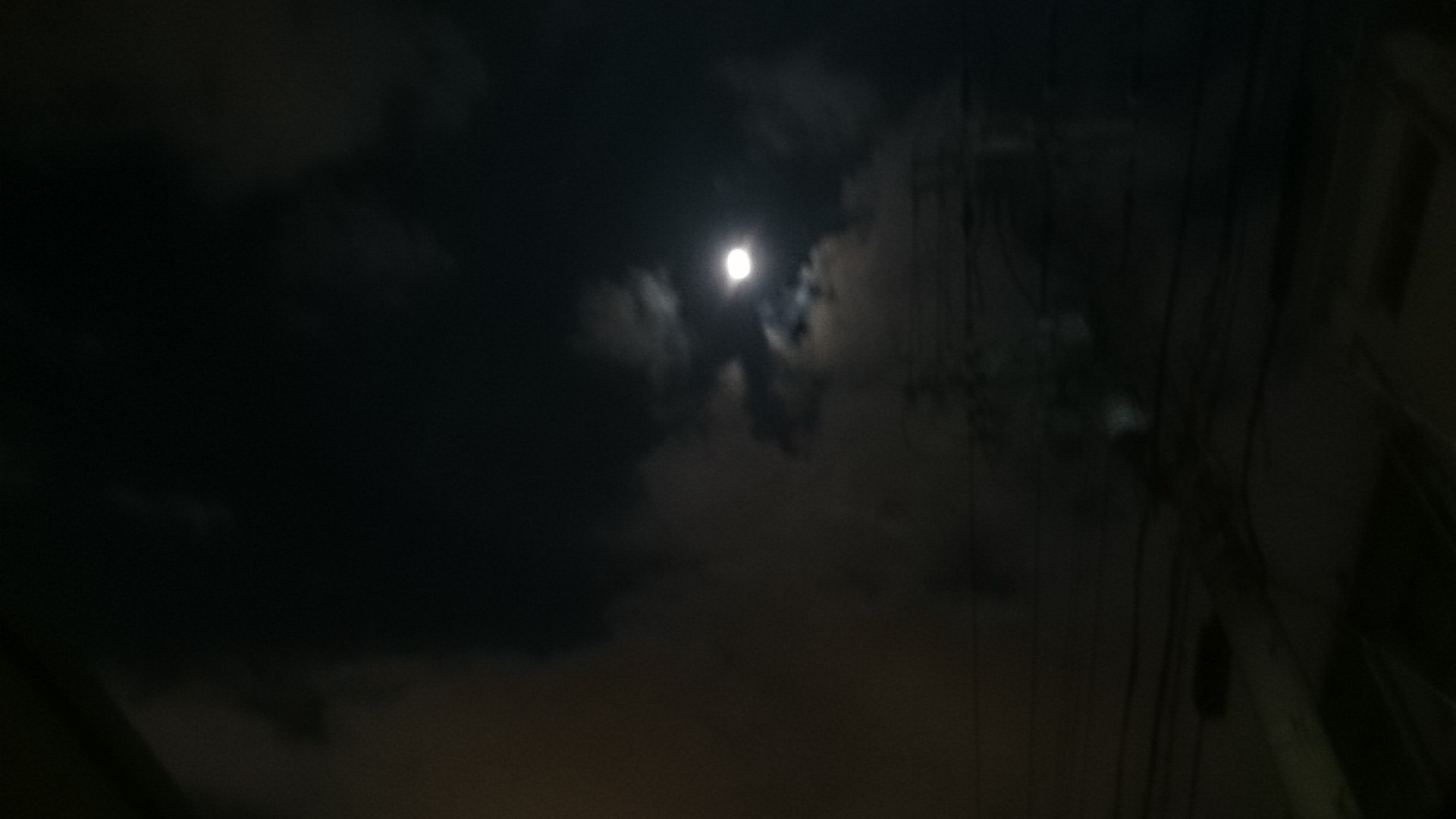 スーパー16夜/ピント夜空にする。