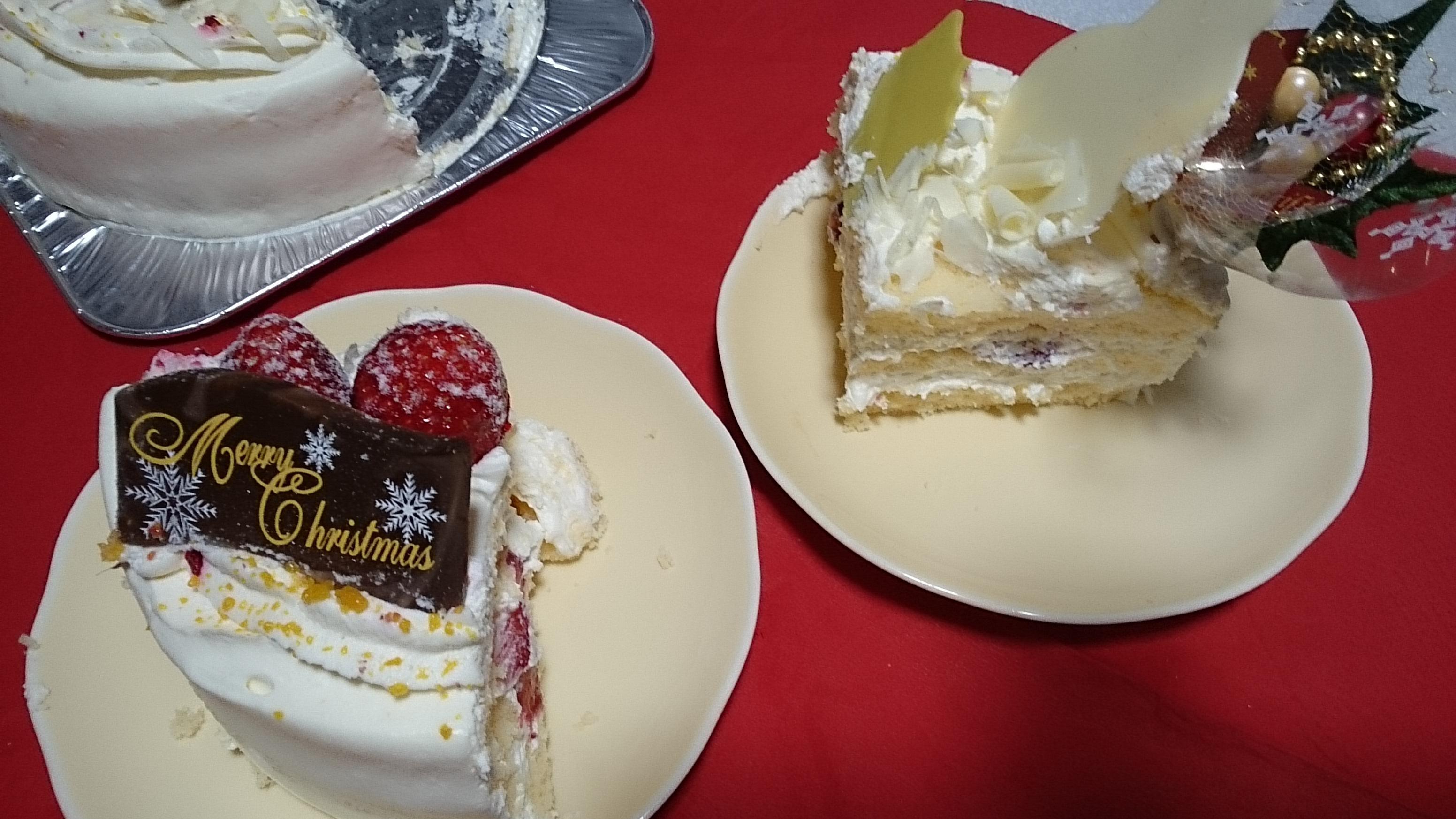 クリスマスケーキカット