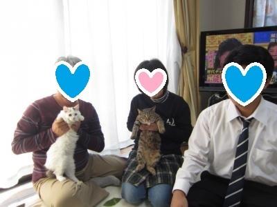 うり・こねぎ家族写真