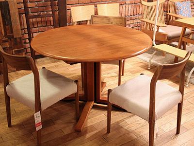 スコービー伸長式ラウンドテーブル