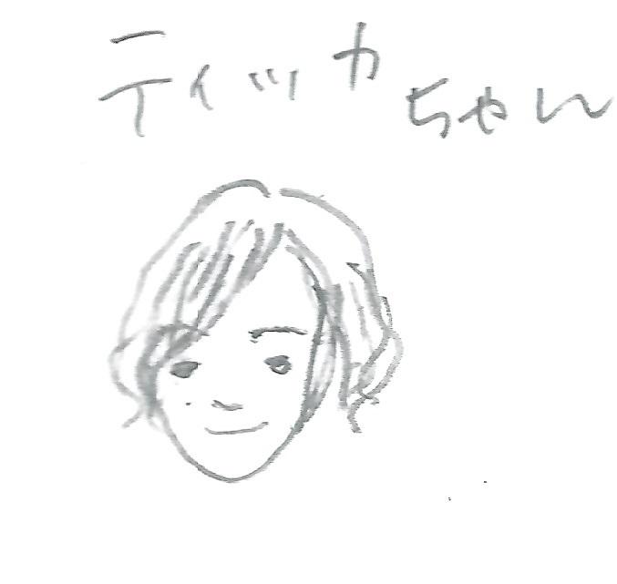 アイコン画ティッカちゃん